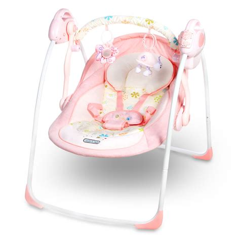 Online Get Cheap Pink Bouncer Chair Aliexpress Com