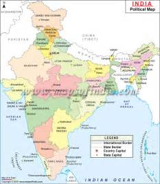 Political Map Of India by India Political Map Free Download