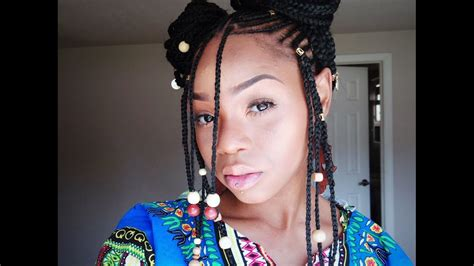how to make fulani hairstyle fulani alicia keys braids quot tutorial quot phivestarhair youtube