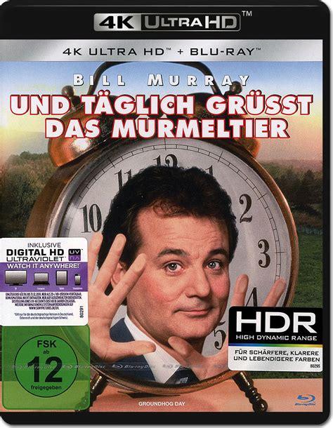 groundhog day uhd und t 228 glich gr 252 sst das murmeltier uhd 2 discs