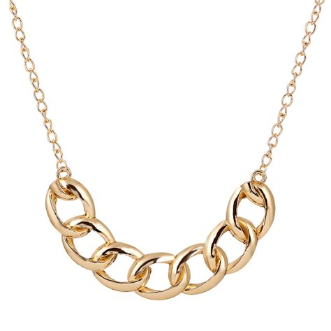 Kalung New Fashion Charm Jewelry Pendant Chain Chunky State 1 2015 lureme new design fashion large link chain burnished gold chunky chain necklace for