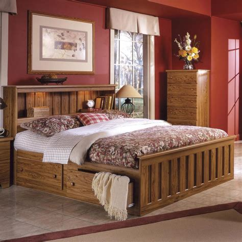 solid wood bookcase headboard king king bed with bookcase headboard elegant medium size of