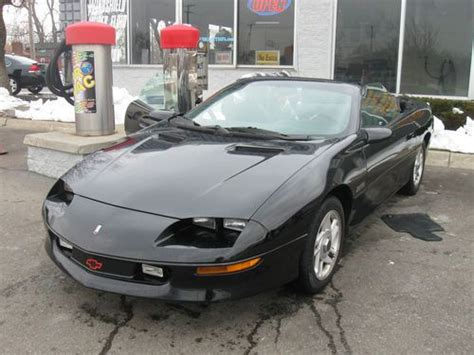 how cars work for dummies 1996 chevrolet camaro instrument cluster buy used 1996 chevy camaro z28 convt 5 7l v8 lt1 automatic trans in ypsilanti michigan