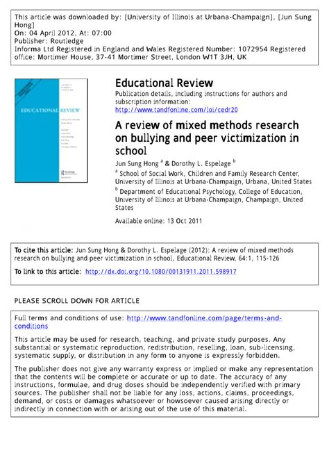 thesis about bullying methodology literature review on bullying at work custom writing at