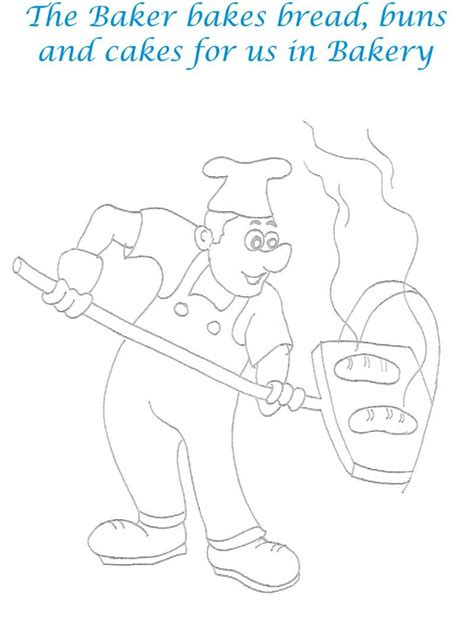 baker photos coloring pages