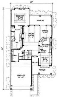 narrow lot luxury house plans narrow house plans on narrow house house