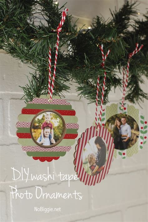 washi paper ornament diy washi photo ornaments