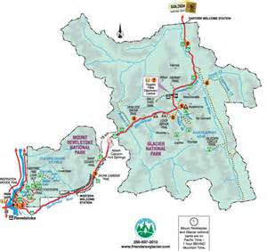 map of glacier national park canada experience mount revelstoke glacier national parks