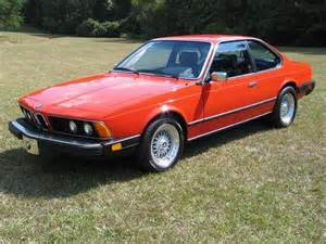 Bmw 633csi 1982 Bmw 633csi Car