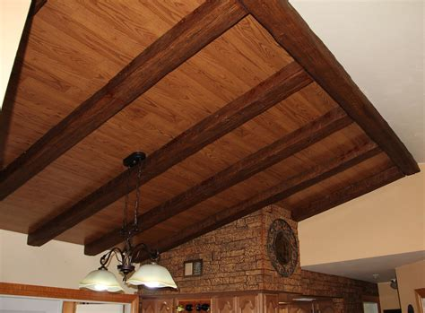 faux beams ceiling ideas home interior ceiling ideas for a home pretty wood ceiling ideas ceilings