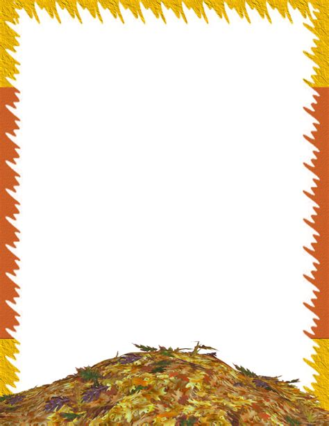 autumn fall free stationery template autumn fall free