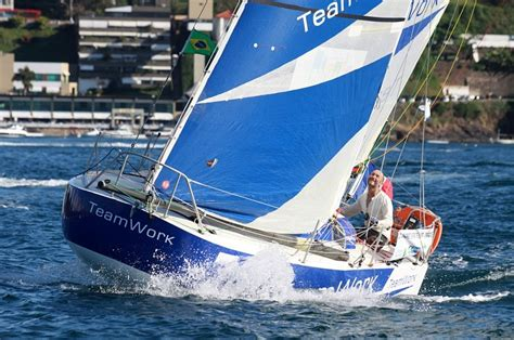 scow mini transat cruiser racer confusion scow bow revolution 29 and