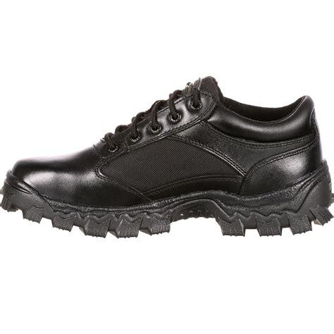 rocky oxford shoes rocky alphaforce s black duty oxford shoe fq0002168