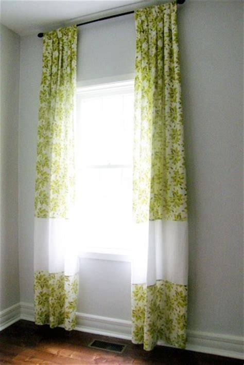how to make long curtains how to make curtains longer furniture ideas
