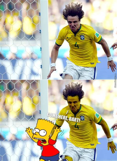 david luiz or sideshow bob by bakoahmed meme center