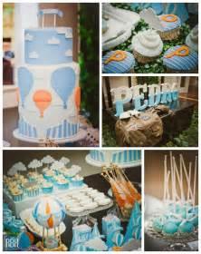 kara s ideas air balloon themed baby shower via