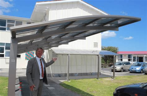 Cantilever Car Port by Cantilever Carport Ground Breaking Shading Solution