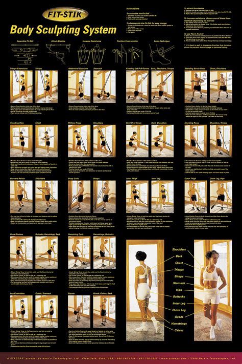 weight training posters sculpting  simple balance