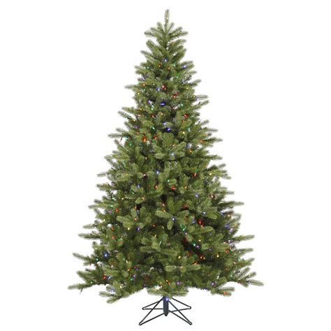 5 5 Foot Pe Pvc King Spruce Christmas Tree Multi Colored Multi Color Tree