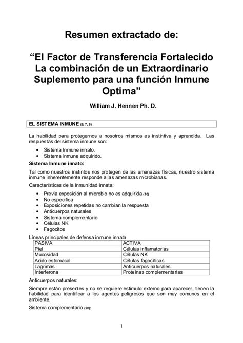 carta metodologica rusa factores de transferencia los factores de transferencia mejorados autor dr william hennen