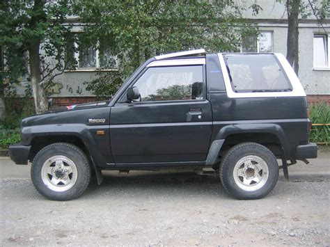 1992 daihatsu rocky 1992 daihatsu rocky for sale 1 6 gasoline automatic for