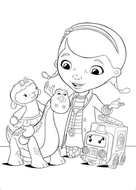 doc mcstuffins characters coloring pages 10 best images about doc mcstuffins on pinterest doc