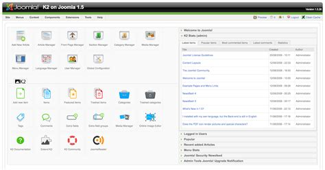 joomla workflow management k2 the powerful content extension for joomla developed