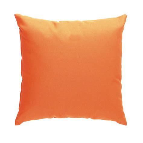 coussin orange 2 coussins orange 40 x 40 cm maisons du monde