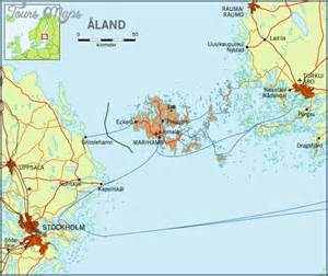aland islands map mariehamn aland islands map toursmaps