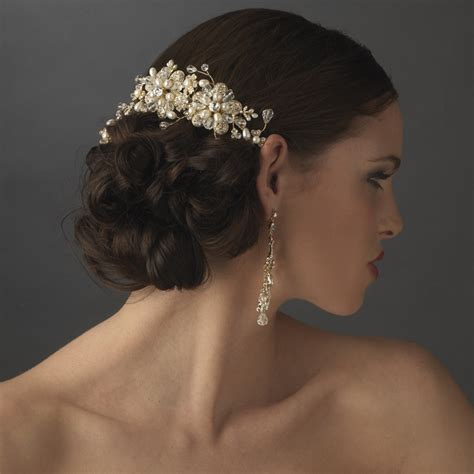 fabulous bridal headpiece styles for short haired brides