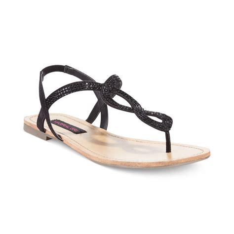 black bling sandals material selena rhinestone flat sandals in