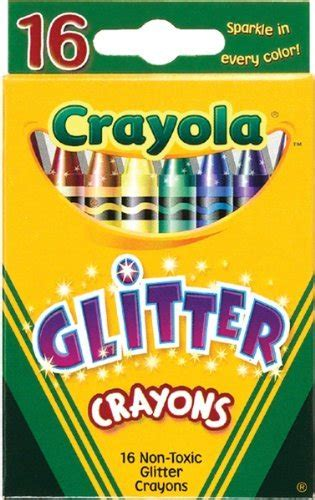 crayola shock prices on sale glitter crayons 16 pack
