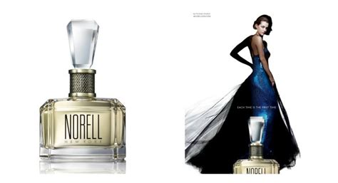Norell New York Baccarat parlux launches norell new york in a baccarat