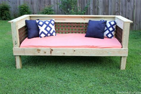 Diy Outdoor Daybed Diy Outdoor Daybed