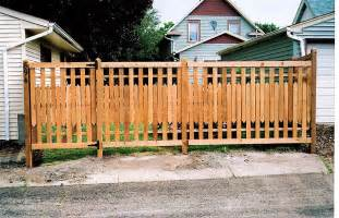 Decorative Privacy Fences by Pics Photos Wood Privacy Fence Decorative Aluminum Fence