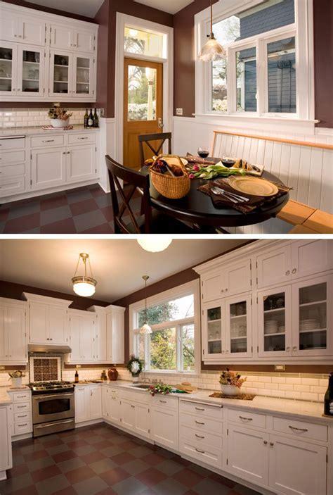 Belmont Craftsman Kitchen Remodel   Square Deal Remodeling