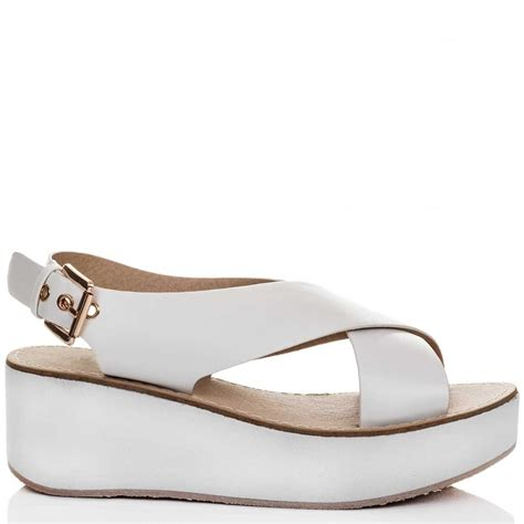 deedee white sandals shoes from spylovebuy