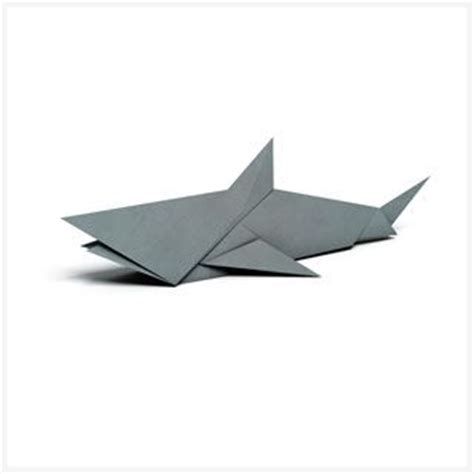How To Make A Origami Shark Step By Step - 25 best ideas about origami animals on