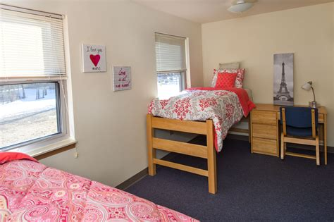 Furniture Style Kitchen Cabinets by Residence Halls University Of Southern Indiana