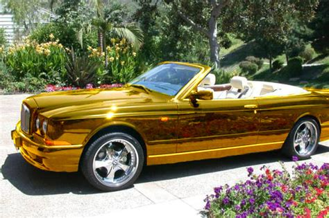 gold bentley convertible with my gold grill and my gold bentley ea tside by