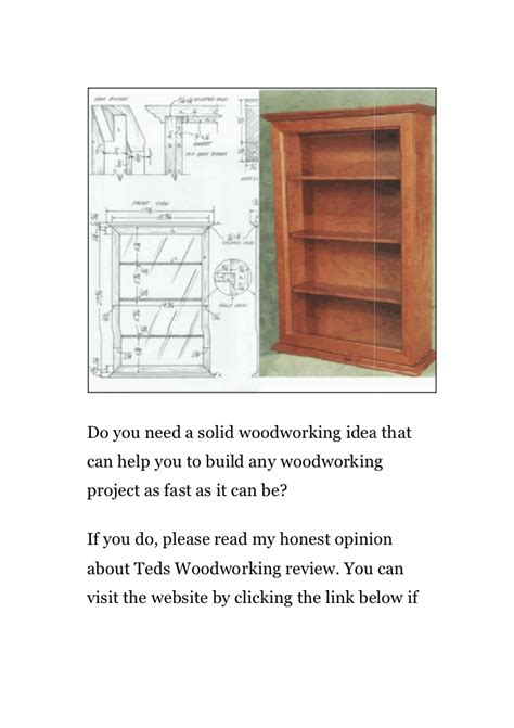 teds woodworking pdf teds woodworking review pdf