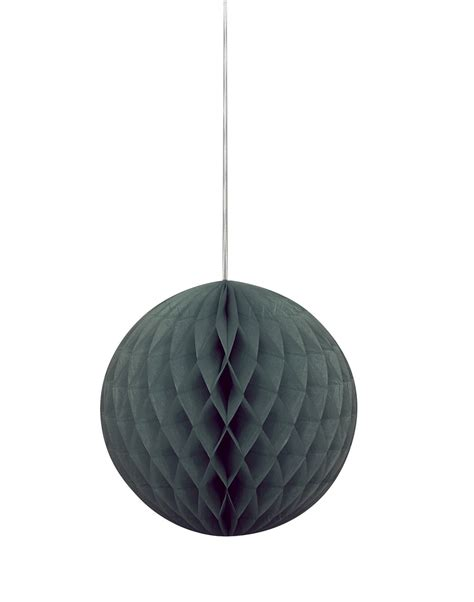 How To Make Paper Hanging Balls - large black paper hanging honeycomb decoration tissue
