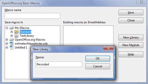 membuat nomor halaman openoffice cara rekam edit dan penggunaan macro di openoffice writer