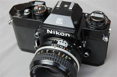 nikon el2 replaced the nikkormat with nikkor 50 mm 1 2 catawiki
