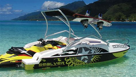 jet ski and boat the sealver waveboat 525 is a jet ski powered water vehicle