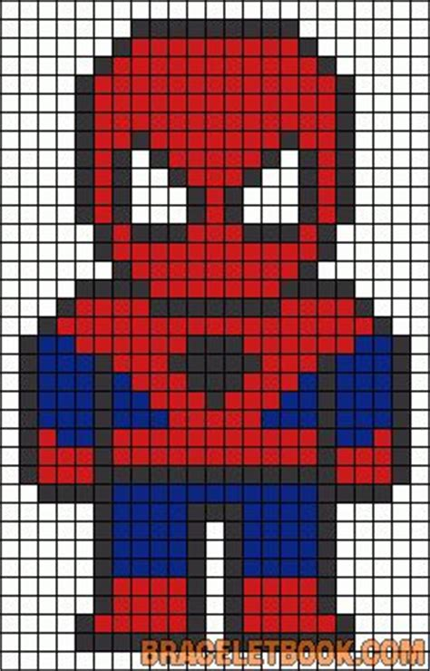 spiderman bead pattern 1000 images about superhelden kralenplanken strijkkralen