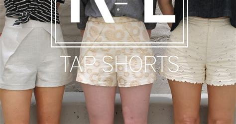 pattern for tap shorts tap shorts pattern from k l shorts sewing make