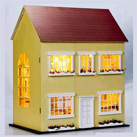 Diy Handcraft Miniature Project Kit Led Lights