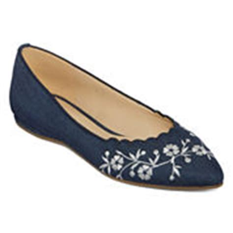 jcpenney womens flat shoes liz claiborne ballet flats s flats loafers for