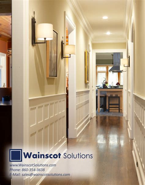Wainscot Solutions Hallway Designs By Wainscot Solutions Contemporary